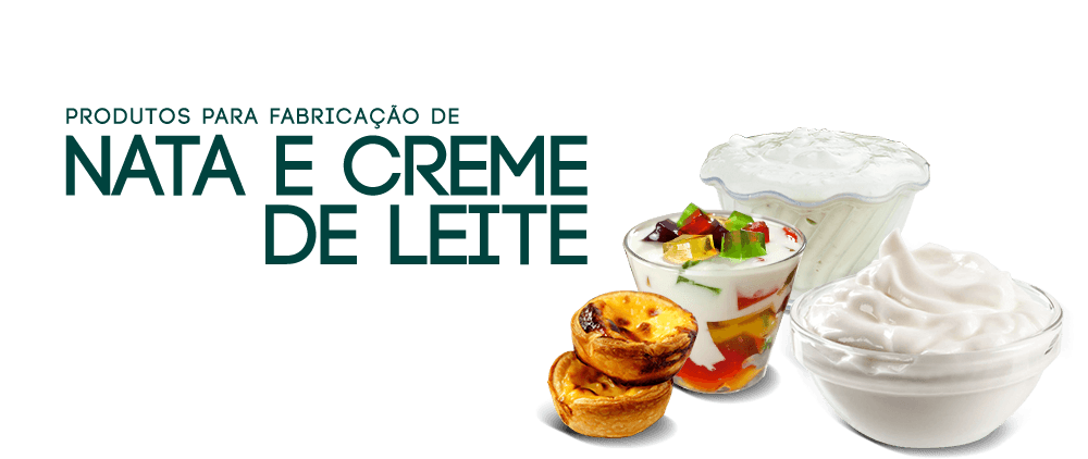 Nata e Creme de Leite
